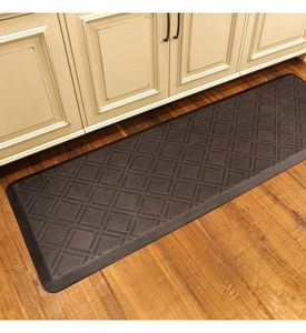 Wellness Mat - Embossed Moire - 6 x 2 Image