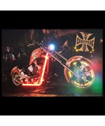 West Coast Choppers Bike Neon/LED Picture - by Neonetics - 3WESTC