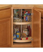 18 Inch Cabinet Lazy Susan - Wood - Full-Round