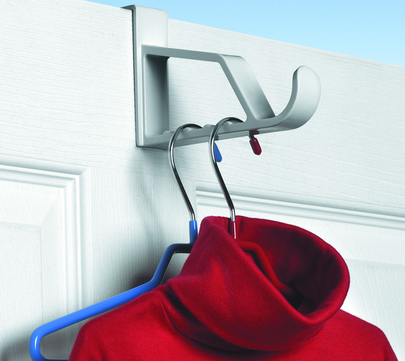 ... White Over The Door Clothes Valet & Over the Door Hooks and Hangers | Organize-It