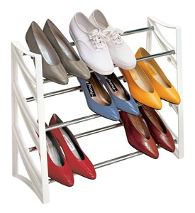 3 Tier Shoe Rack Image