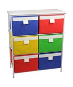White Storage Stand by Household Essentials