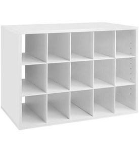 freedomRail Big O-Box Cubby Unit - White Image