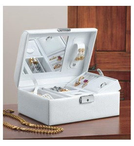 Portable Jewelry Organizer & Carrying Case Image