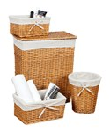 Wicker Basket Set - Honey
