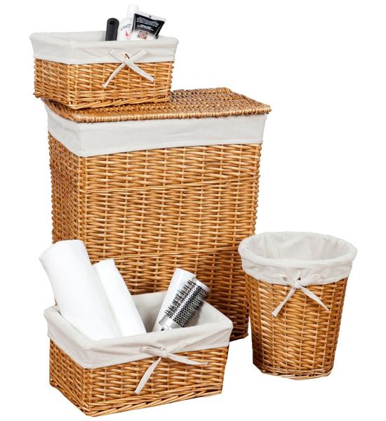wicker basket set honey set of 4 price