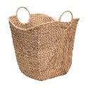 Wicker Basket with Handles - Water Hyacinth