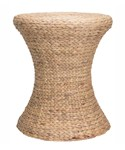 Wicker End Table - Water Hyacinth