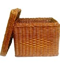 Wicker Hanging File Basket