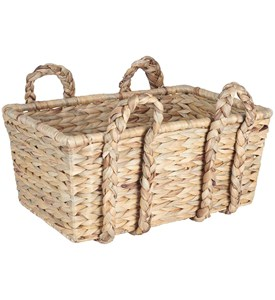 Wicker Handle Basket Image