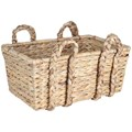 Wicker Handle Basket