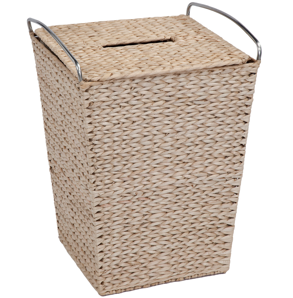 Wicker Laundry Basket In Clothes Hampers