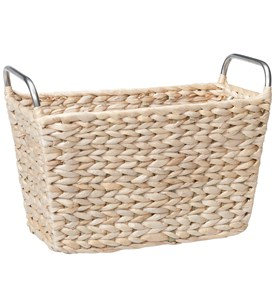 Wicker Magazine Basket Image