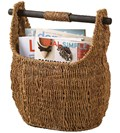 Wicker Magazine Holder