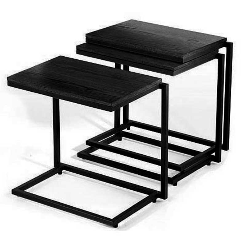 Wide stacking c tables by tag in tv tray