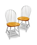 Windsor Chair- Set of 2 by Winsome Trading