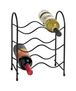 Wine Bottle Holder - Black