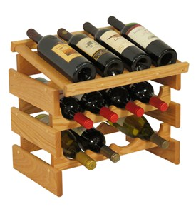 Wine Display - 12 Bottle Image