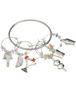 Wine Glass Charms - Martini