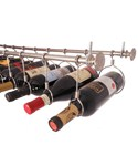 Stainless Steel Under Cabinet Wine Rack