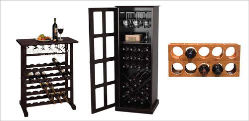 Wine Racks and Cabinets Photo