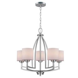 Winston 5-Light Chandelier by Lite Source Image