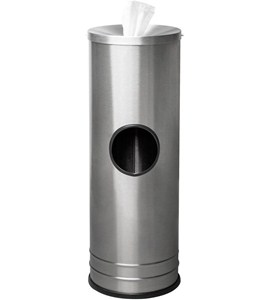 Stainless Steel Wipes Dispenser Image
