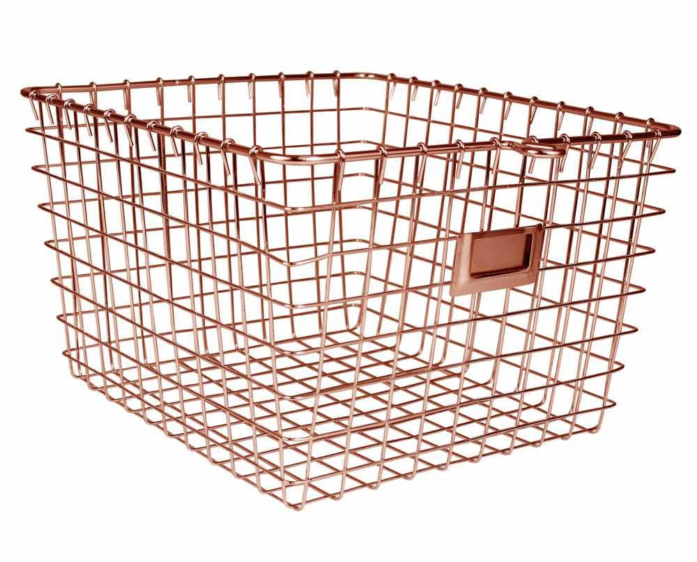 wire storage baskets two dived for kitchen