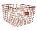 Metal Basket - Copper Finish