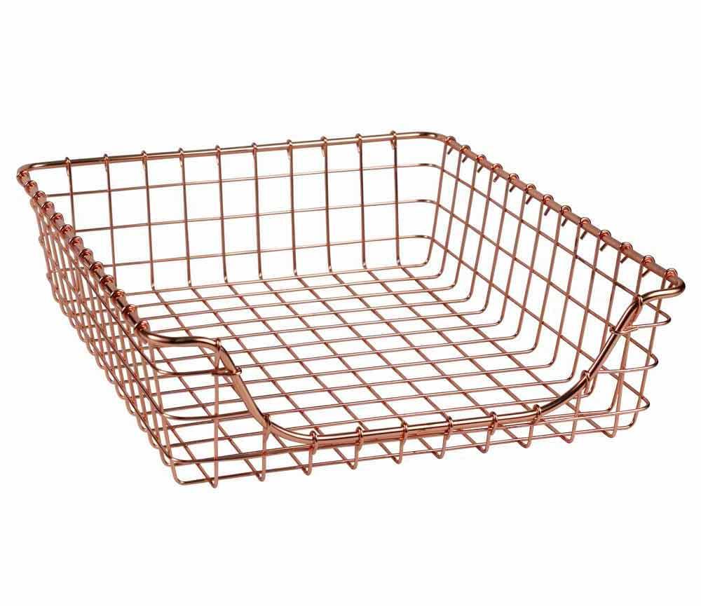 Wire Basket Copper In Wire Baskets
