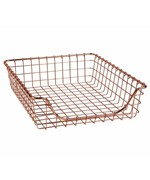 Wire Basket - Copper