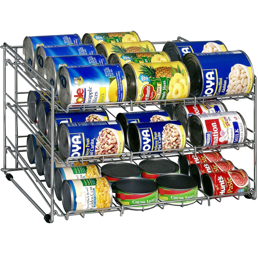 Wire Can Storage Rack Image