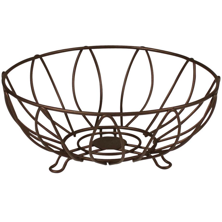 wire fruit basket leaf image