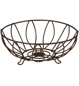 Wire Fruit Basket - Leaf Image
