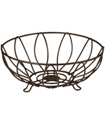 Wire Fruit Basket - Leaf