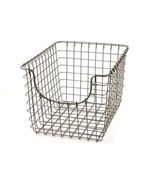 Wire Storage Basket - Nickel
