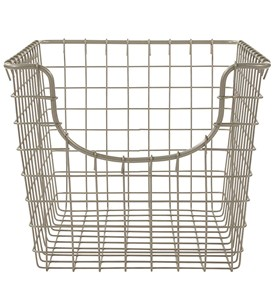 Wire Storage Basket - Nickel Image