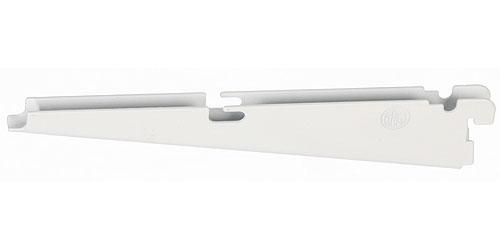 freedomRail 9 Inch Wire Shelf Bracket - White in FreedomRail Brackets