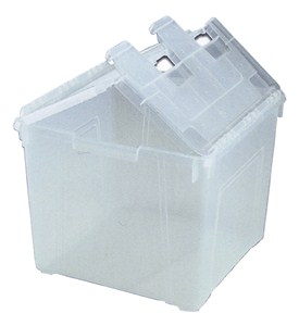 15 Gallon Winged Lid Box Image