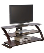 Wood and Glass TV Stand - Keira