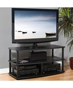Wood and Metal TV Stand