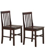 Wood Dining Chairs - Espresso