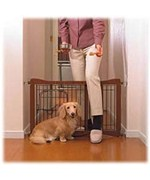 Wood Pet Gate - Expands 28-41
