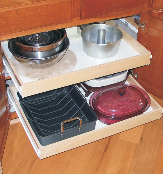 Pull Out Cabinet Shelves And Organizers