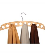 Wood Scarf Hanger - Natural