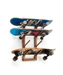 Angled Skateboard Wall Rack