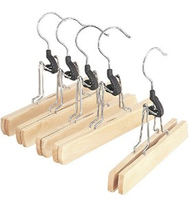 Wood Slack Hangers (Set of 5) Image