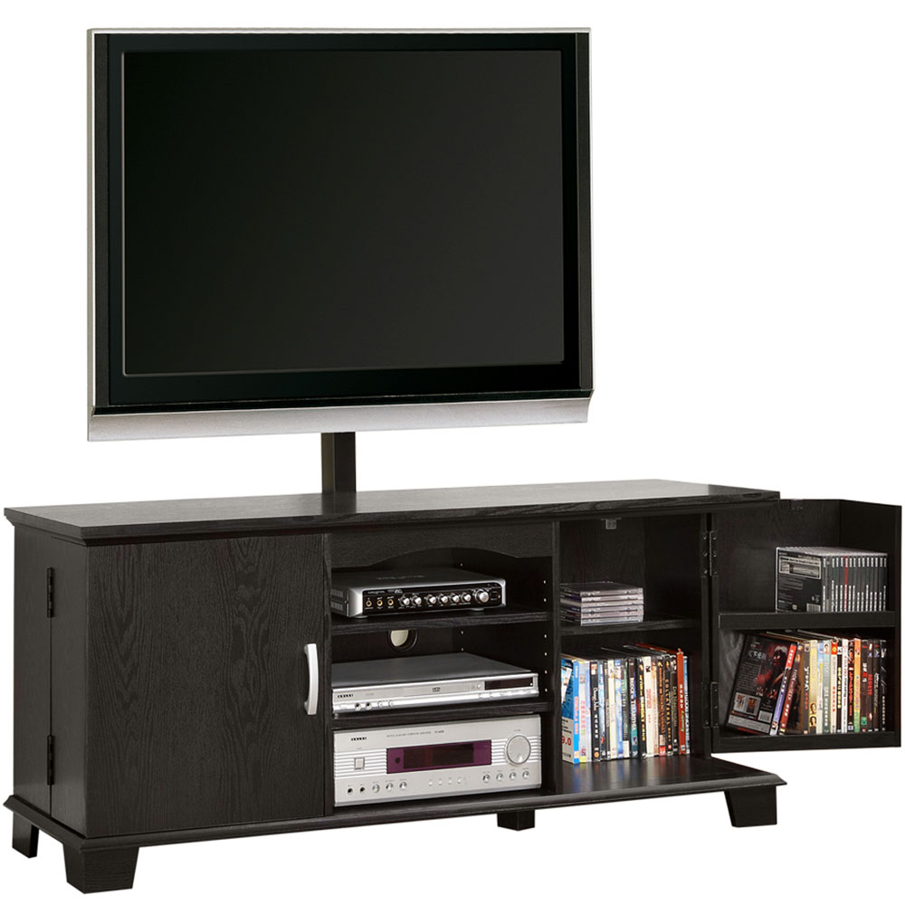 Wood Tv Stands ~ Wood tv stand with mount in stands