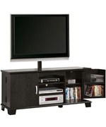 Wood TV Stand with Mount