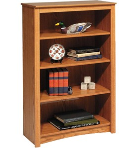 Wooden Bookcase - 48 Inch Image